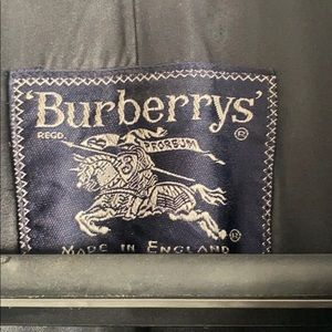 Authentic vintage Burberry trench Kensington men'